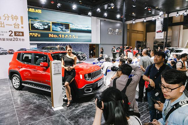 全球SUV领导品牌Jeep杭州车展首日订单力压别克