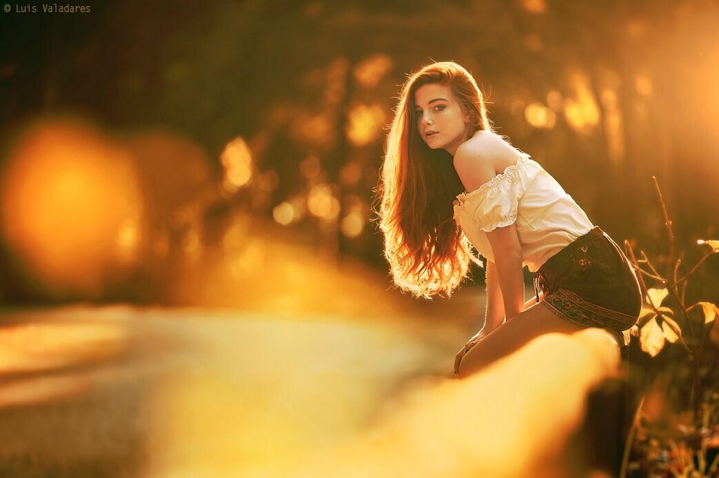 年轻的俄罗斯女摄影师